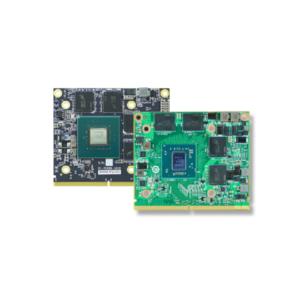 Wbudowane karty graficzne GPU w formacie MXM